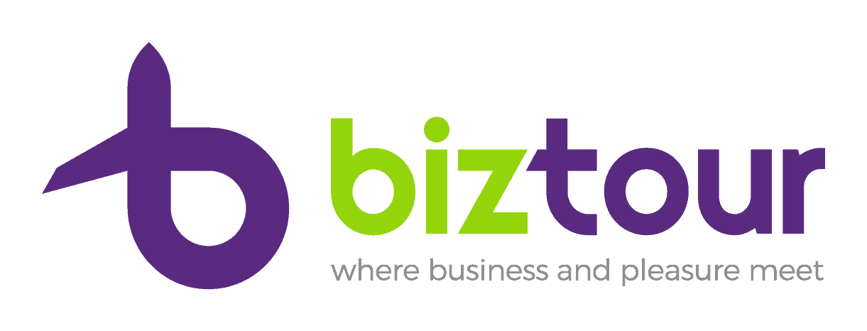 Logo BizTour - color - cu slogan - orizontal